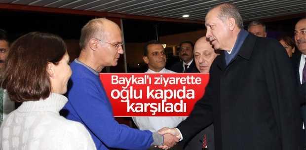 ERDOĞAN, BAYKAL'I ZİYARET ETTİ