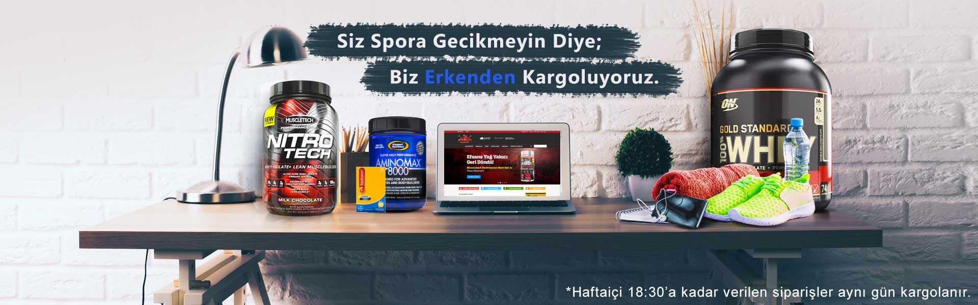 Türkiye Üretimli Protein Tozları
