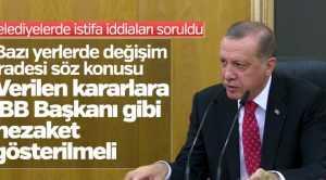 """ERDOĞAN NOKTAYI KOYDU """"İSTİFA ETSİNLER"""""""