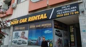 BOSS CAR RENTAL AÇILDI