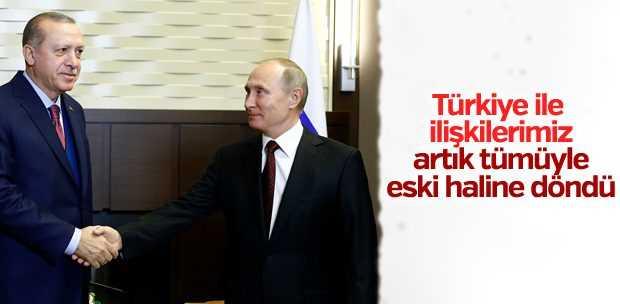 ERDOĞAN İLE PUTİN'DEN ORTAK BASIN TOPLANTISI