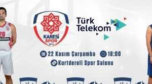 KARESİSPOR'DA HEDEF TÜRK TELEKOM