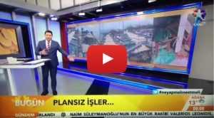 ERDEK'İN YIKILAN İSKELE ÇAY BAHÇELERİ STAR TV HABERDE