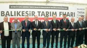 TÜRKİYE'Yİ DOYURAN İL BALIKESİR'DE TARIM FUARI