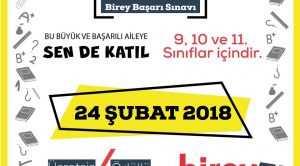 BİREY BAŞARI SINAVI 24 ŞUBATTA
