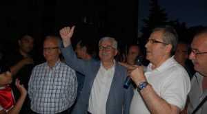 MİLLETVEKİLİ ADAYI İRFAN BARIŞ LEVENT MAHALLESİNİ SALLADI
