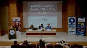 'ALES EĞİTİM SEMİNERİ' DÜZENLENDİ