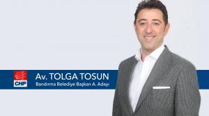 AV. TOLGA TOSUN: UMUDUN ADI CHP