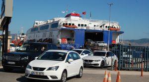 İDO FERİBOTLARI BANDIRMA- İSTANBUL ARASINDA 12 EK SEFER DÜZENLEDİ.