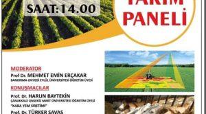 9. TARIM PANELİ TİCARET BORSASI'NDA YAPILACAK