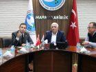 CHP BALIKESİR MİLLETVEKİLİ AHMET AKIN'DAN MARMARABİRLİK'E ZİYARET