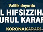 İL HIFZISSIHHA KURULU KARARLARI