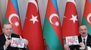CUMHURBAŞKANI ERDOĞAN, AZERBAYCAN CUMHURBAŞKANI ALİYEV İLE BASIN TOPLANTISI DÜZENLEDİ