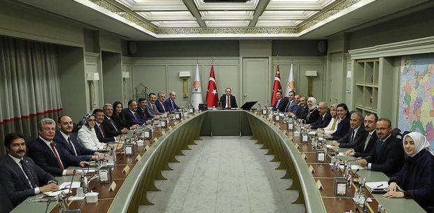 AK PARTİ'DE MYK BELLİ OLDU