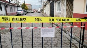 GÖNEN'DE BİR MAHALLE KARANTİNA ALTINA ALINDI