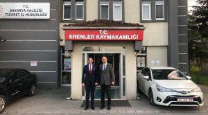 TOLGA TOSUN'DAN ESKİ KAYMAKAMA ZİYARET
